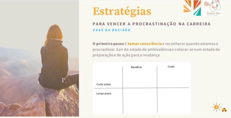 estratégias para vencer procrastinação na carreira