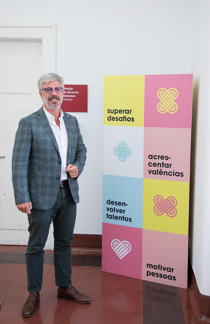Pedro Jorge Silva, diretor de recursos humanos da Santa Casa da Misericórdia de Lisboa