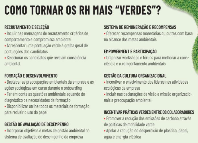Green Human Resources Management: Como os RH podem tornar as organizações mais sustentáveis